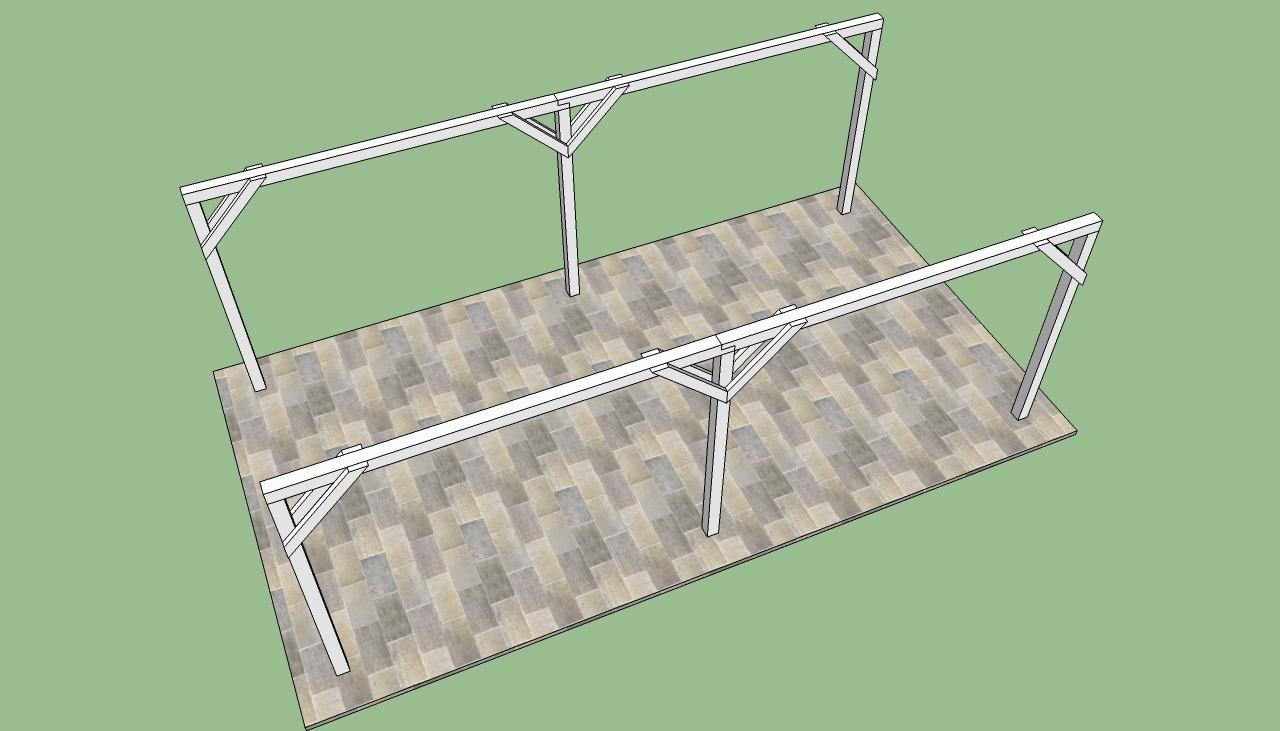 a frame carport plans