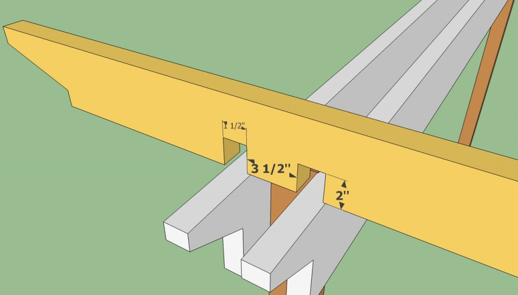 Free attached pergola plans - Attached Pergola Plans HowToSpecialist - How To Build, Step By