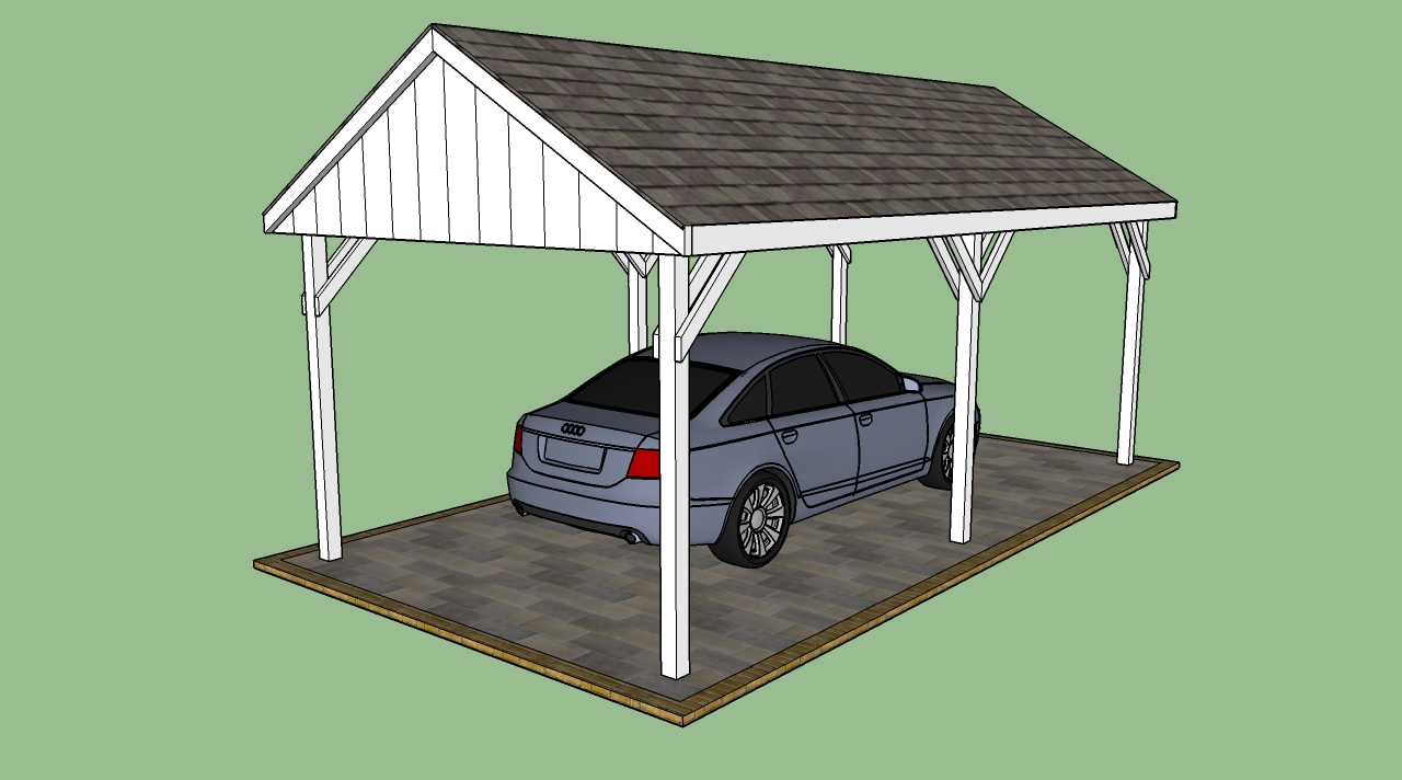 Free carport plans | HowToSpecialist - How to Build, Step by Step ...