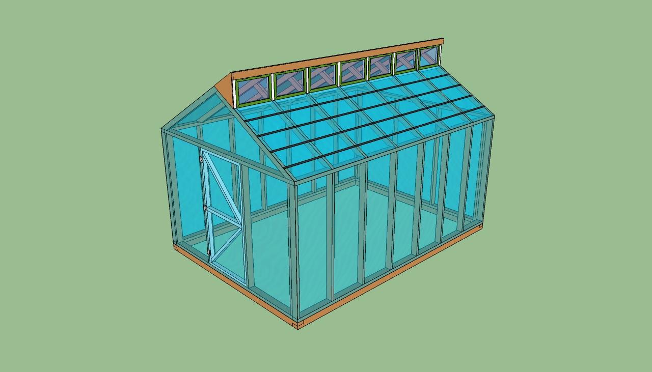 Free greenhouse plans