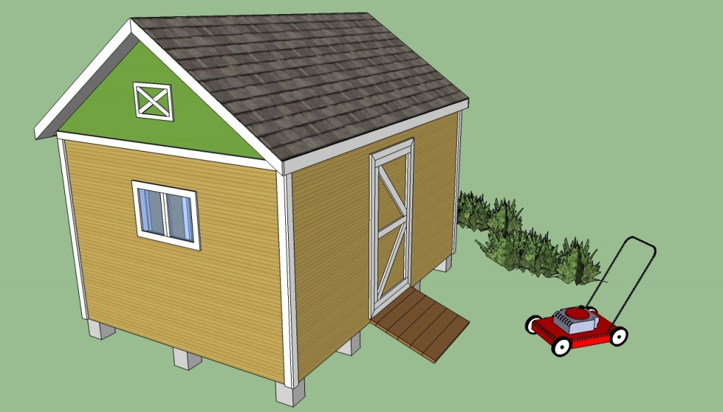 Free storage shed plans