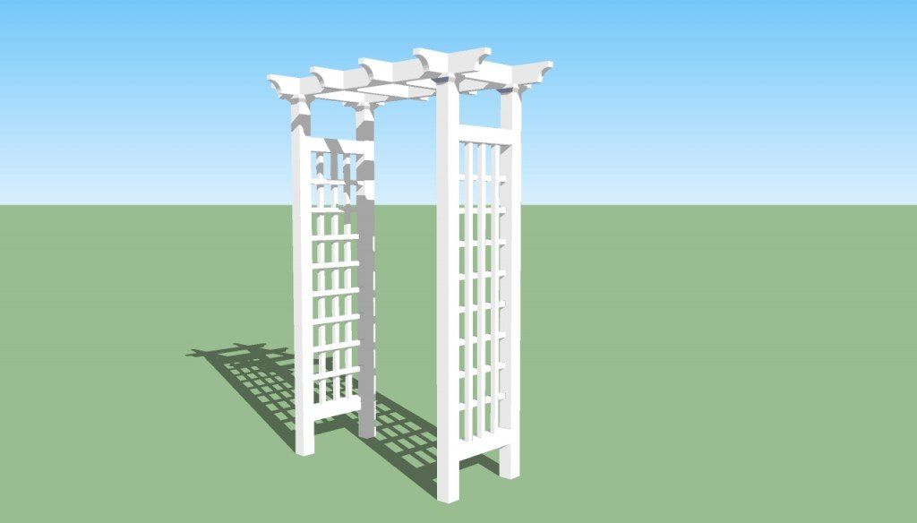 Garden arbor plans | HowToSpecialist - How to Build, Step ...