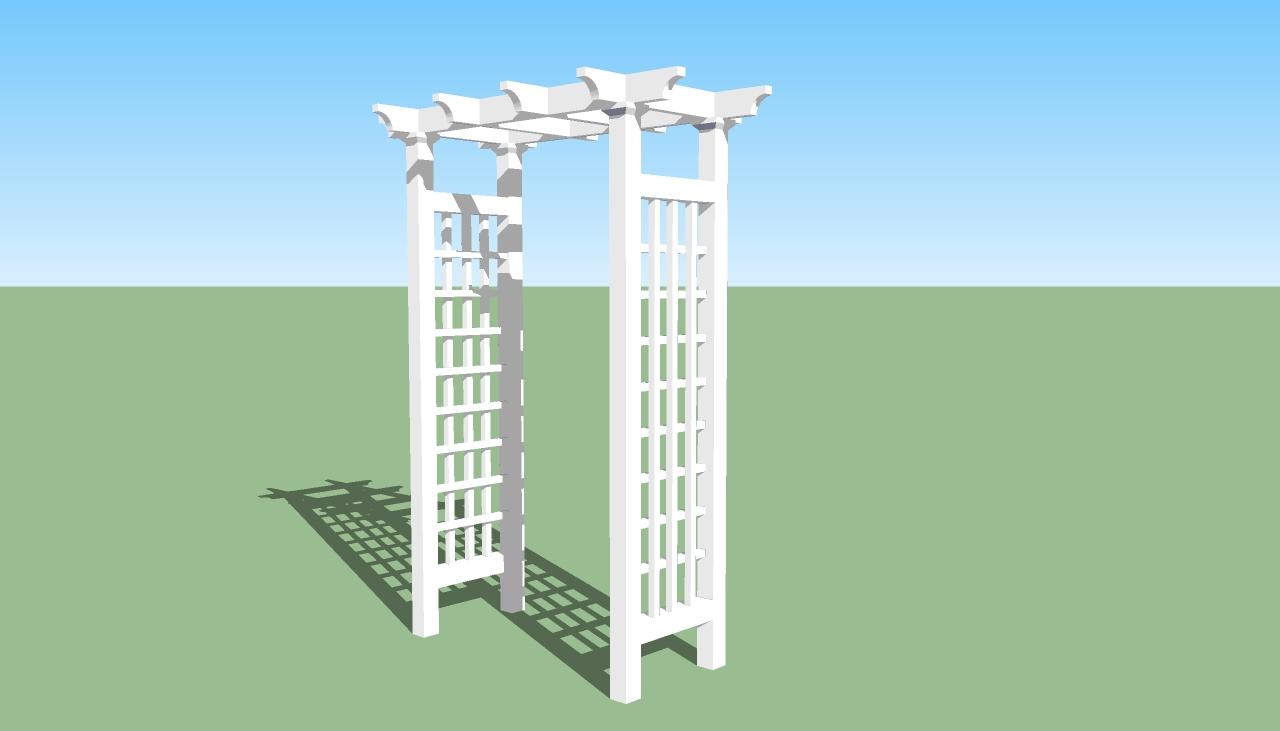 Pergola design howtospecialist how to build step by for Garden arbor designs