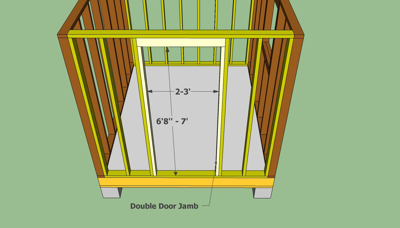 Picnic table plans garden shed door plans plans for for Garden shed door designs