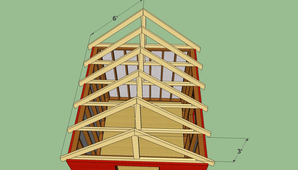 Garden shed roof plans