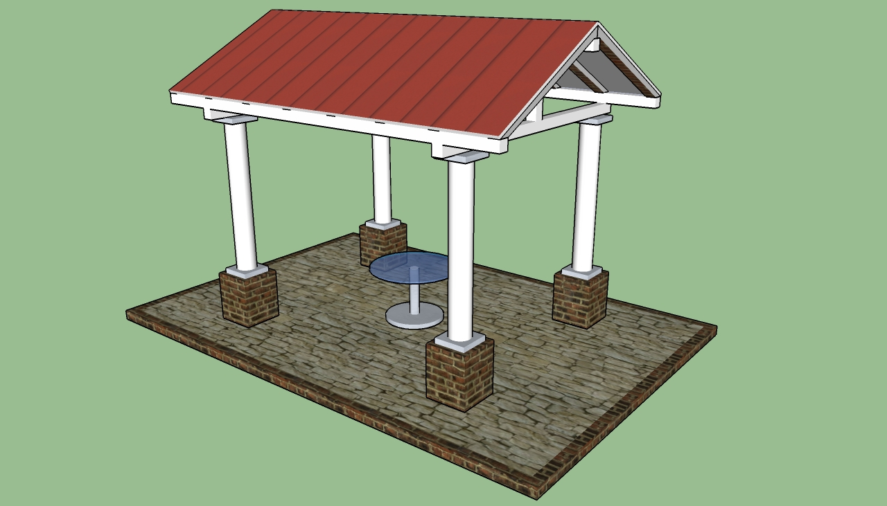 Gazebo designs howtospecialist how to build step by for Average cost to build a pavilion