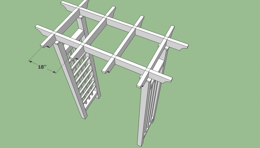Garden Arbor Plans Howtospecialist How To Build Step