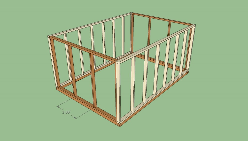 Greenhouse door frame