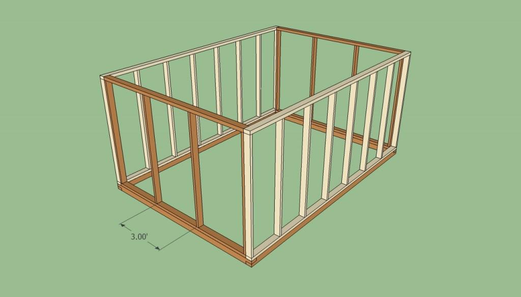 Greenhouse door frame