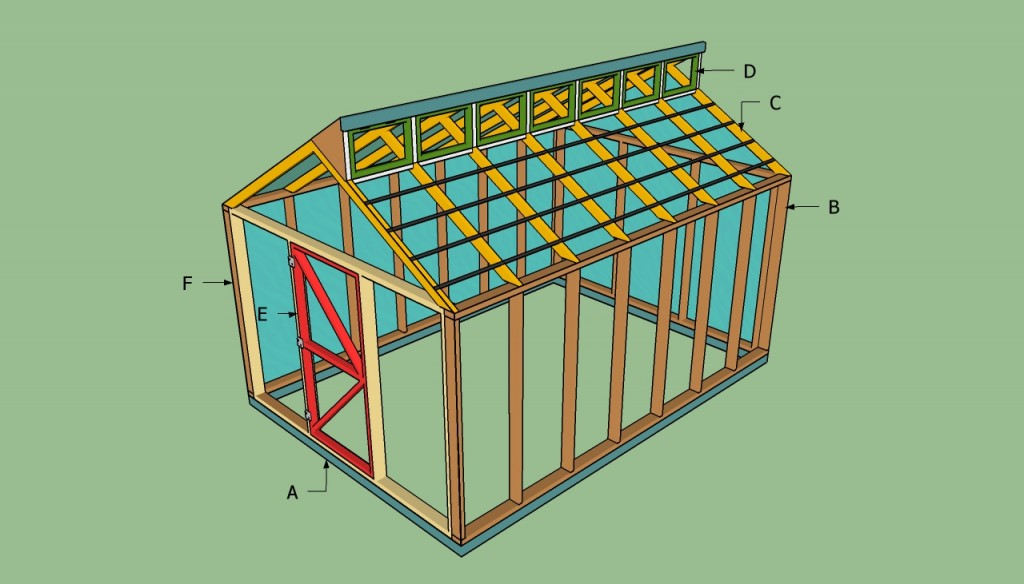 Free greenhouse plans howtospecialist how to build for Greenhouse house plans