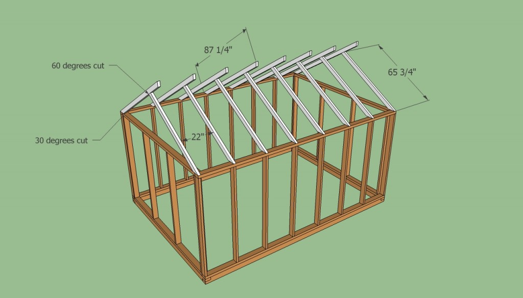 Greenhouse roof plans