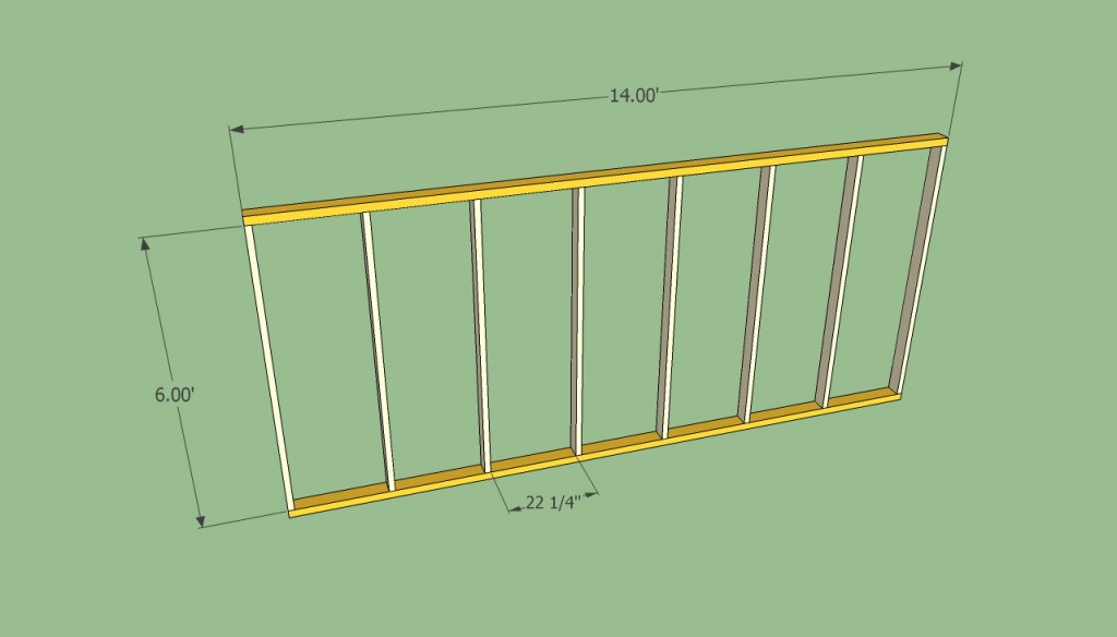Greenhouse wall plans