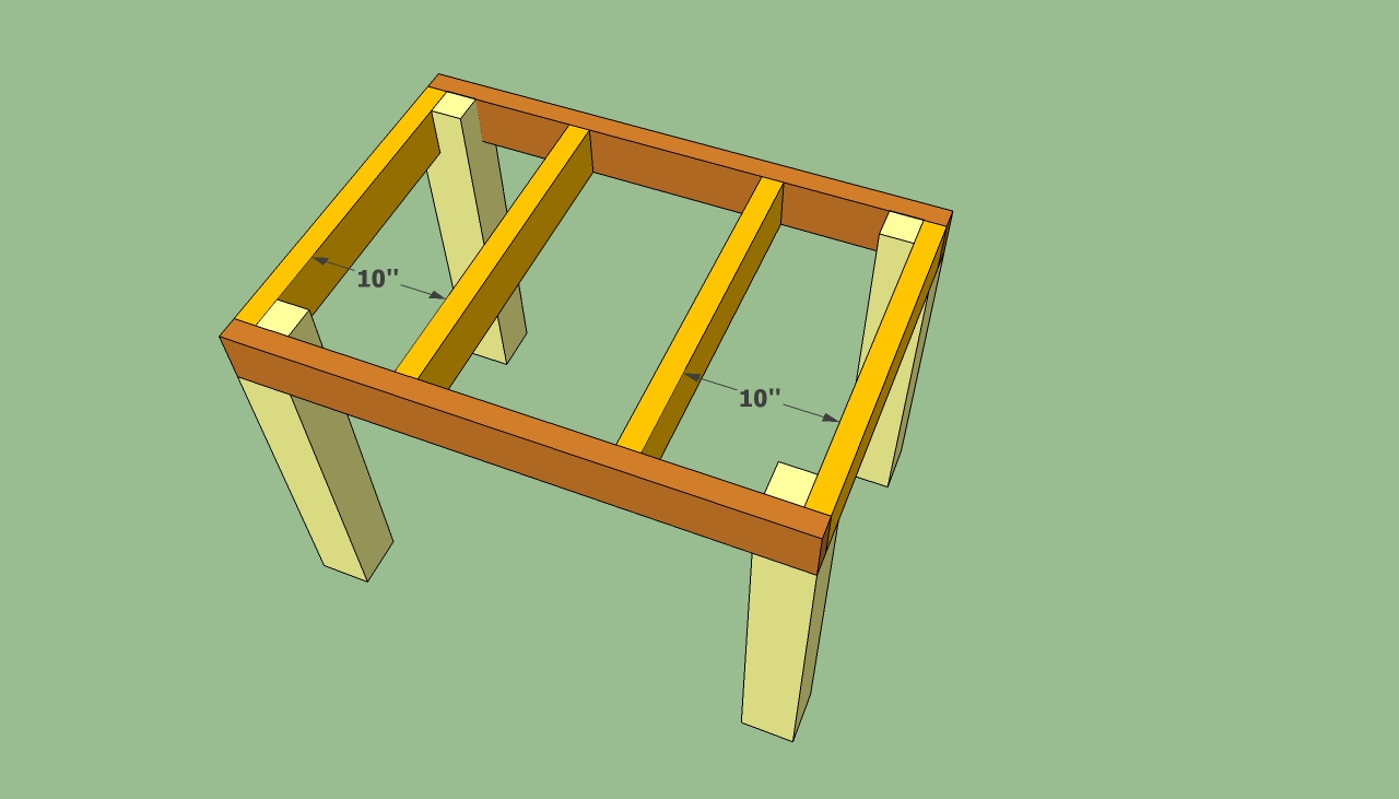 plans to build wood patio table | Quick Woodworking Projects