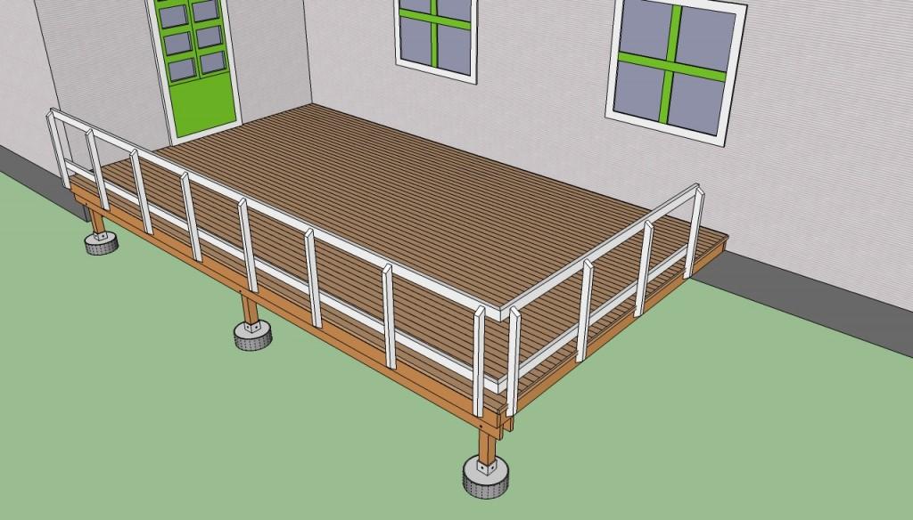 Spectacular Installing deck railings