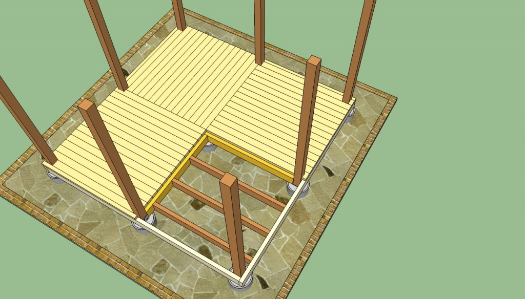 Wooden gazebo plans howtospecialist how to build step