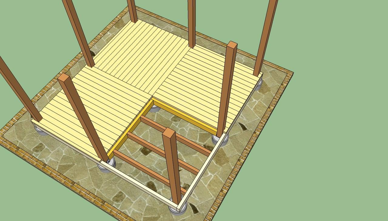 Wooden decking wooden decking plans for Wood deck design plans
