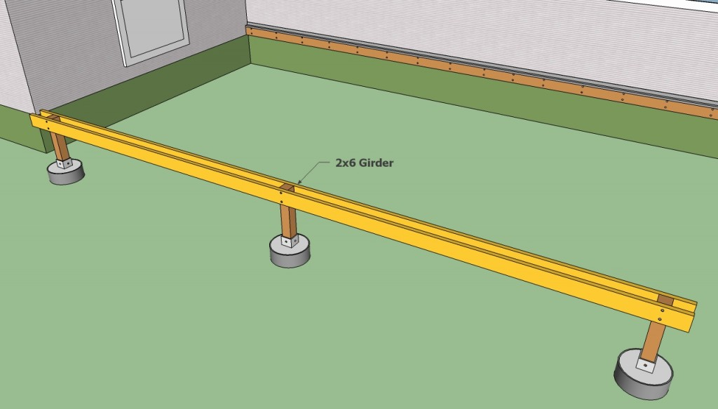 Installing the girder