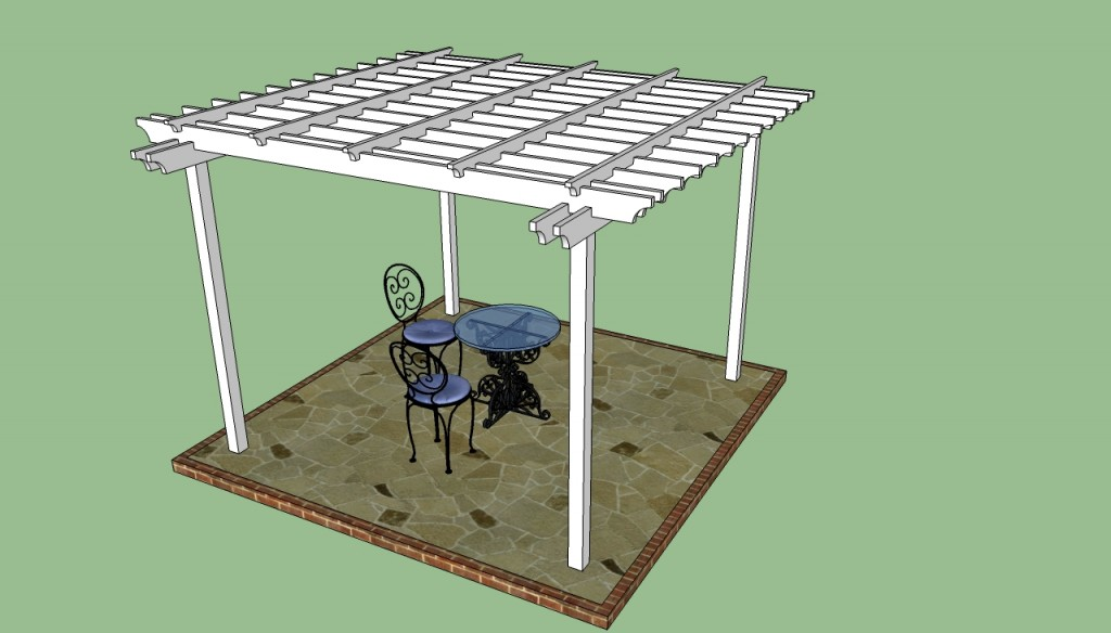 Patio pergola design