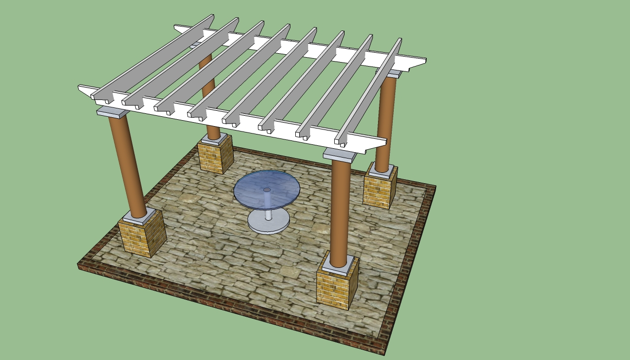 Pergola classic design for How to design and build a house