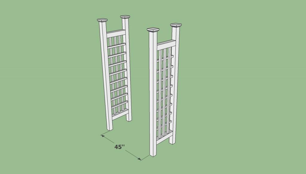 Simple arbor plans