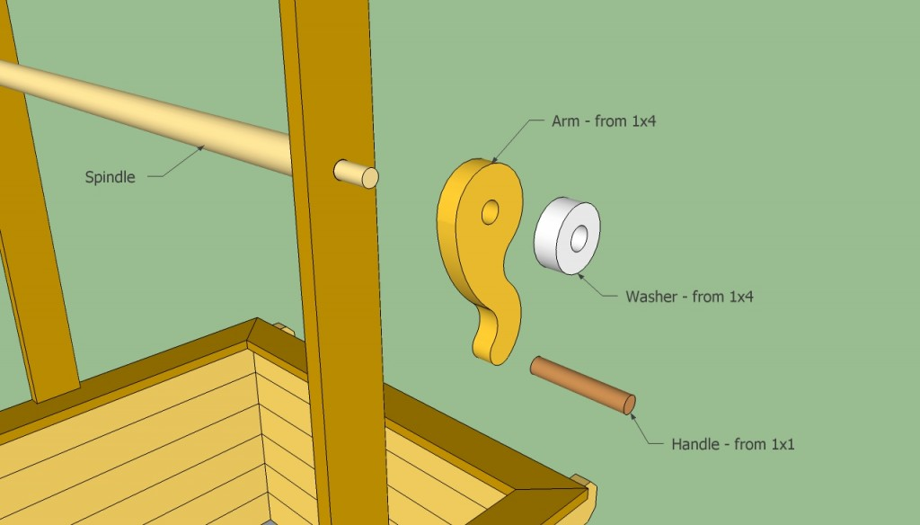 Wooden well plans