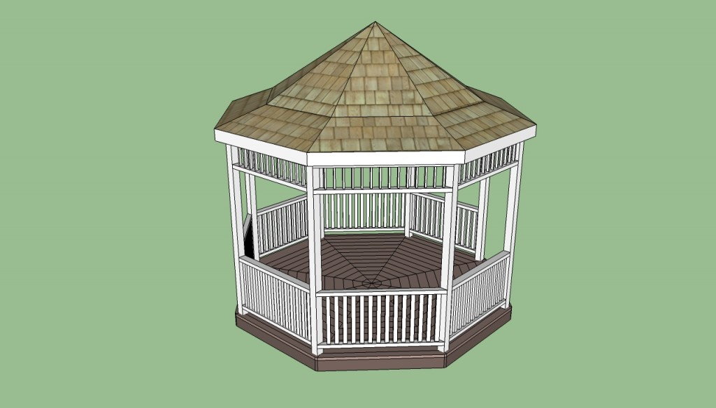 Octagonal gazebo designs