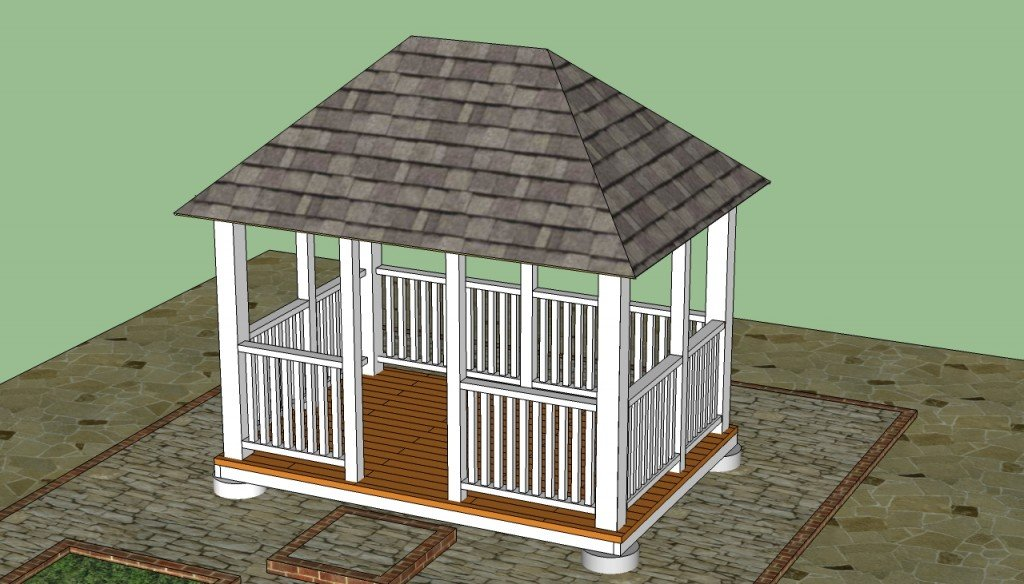 Rectangular gazebo designs