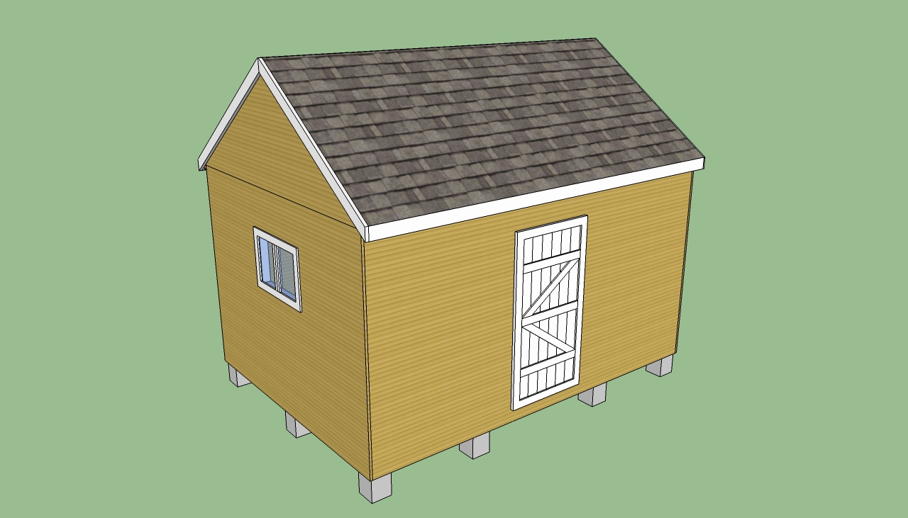 Shed garden storage shed with carport plans for Carport with storage shed plans