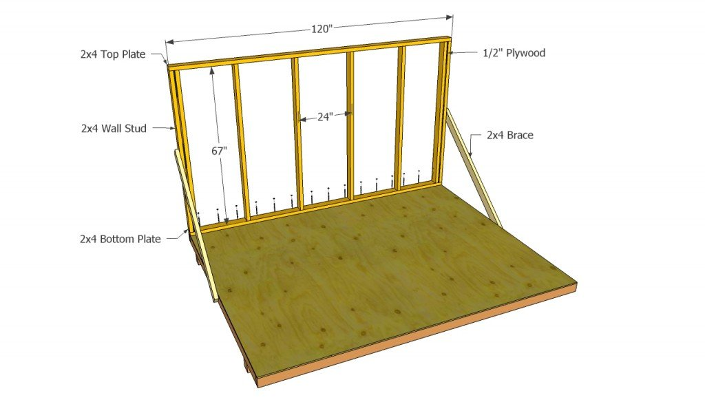 Barn Shed Wall Plans
