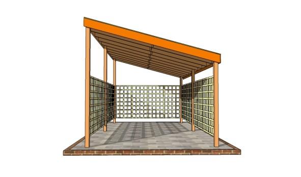 Building a single car carport