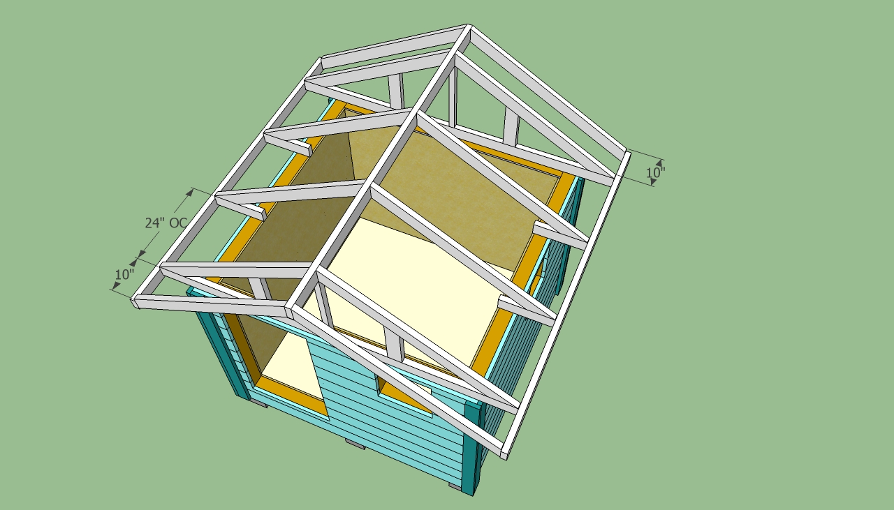 Playhouse Roof Plans Pdf Woodworking