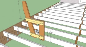 Deck Bench Seat With Back Plans PDF Plans