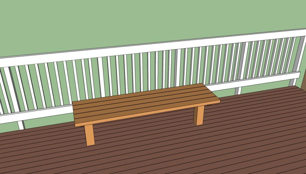 Deck Seat Plans free