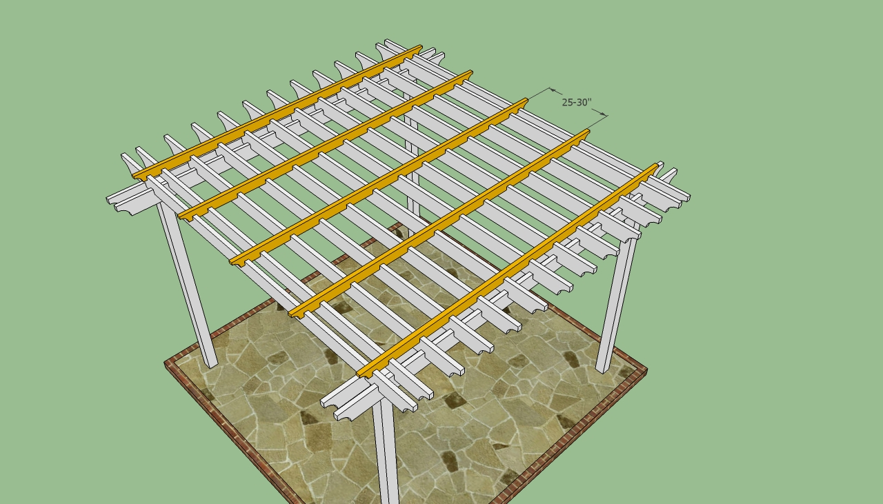build it yourself pergola plans
