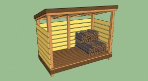 Firewood Storage Shed Plans Lean To
