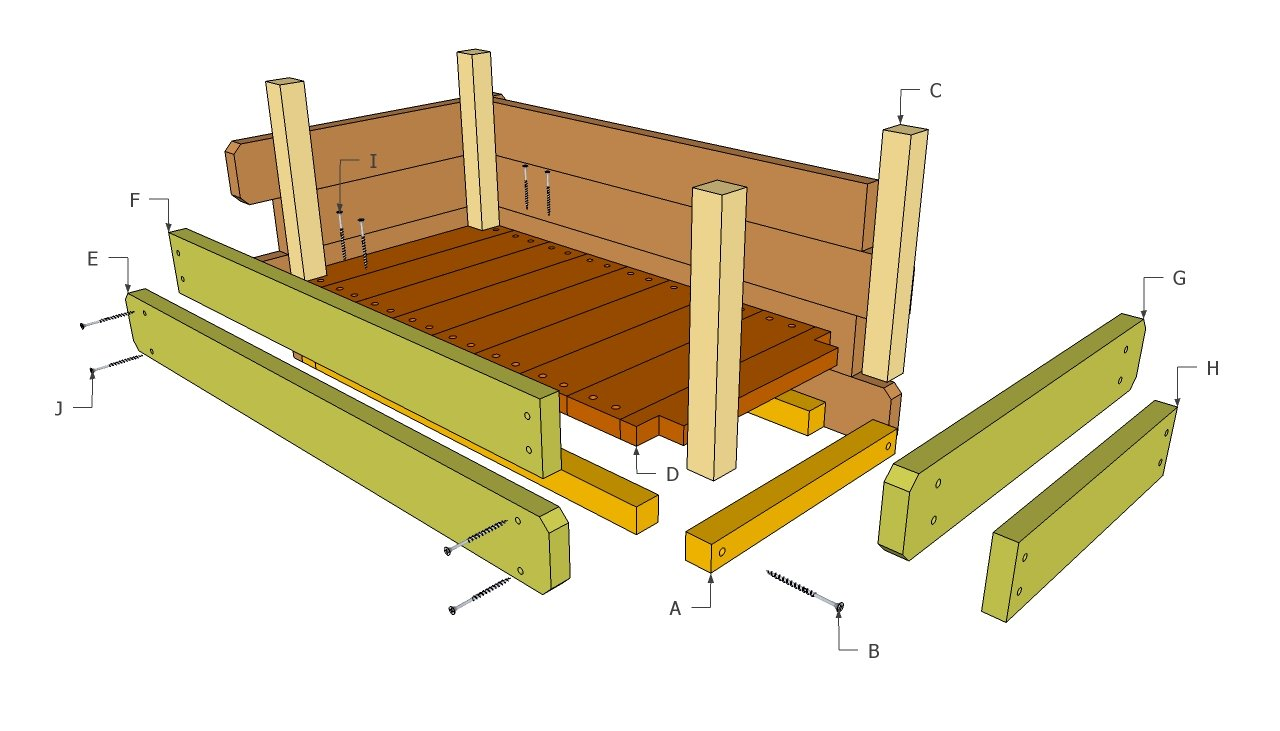 Wooden Flower Box Plans