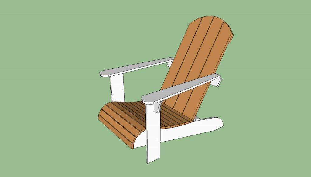Free adirondack chair plans