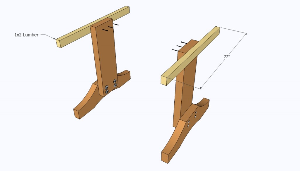 Installing the support elements