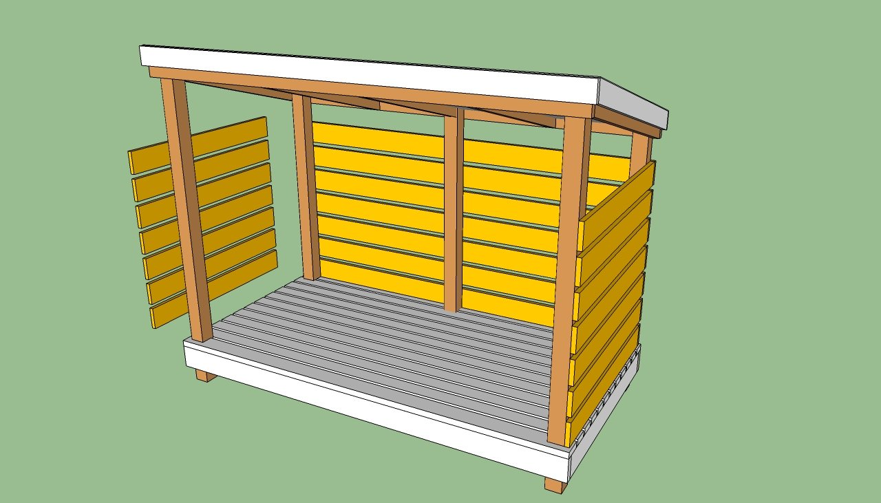 Share Plans to build a bike shed | DIY Simple Woodworking