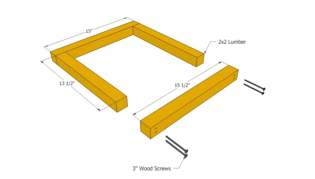 Planter frame plans