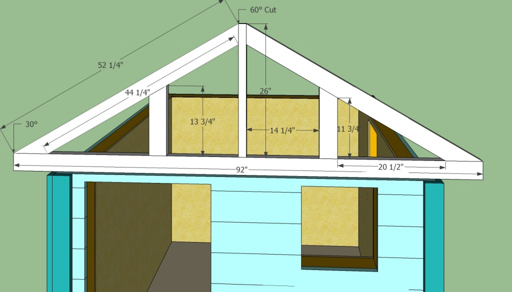 Wooden Playhouse Plans Howtospecialist How To Build