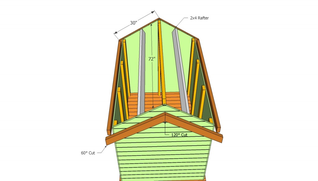 Playhouse roof plans free
