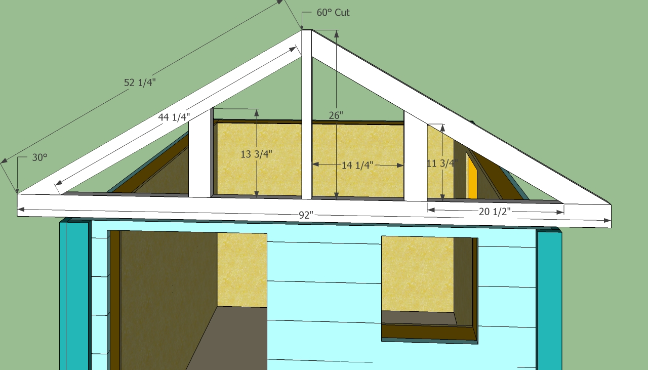 wooden playhouse plans build