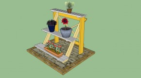 Free Wood Working Plans - Cedar Planter Plans - Wooden Planter