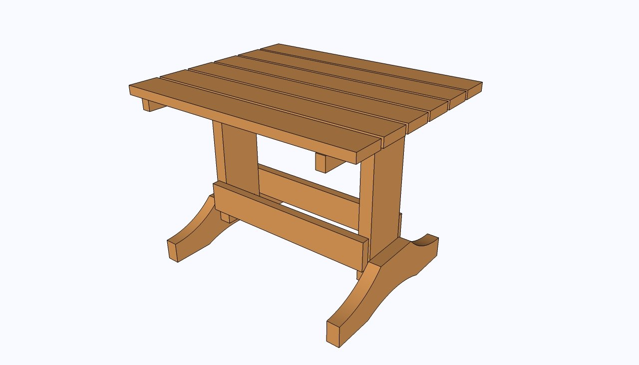 Permalink to making a basic end table