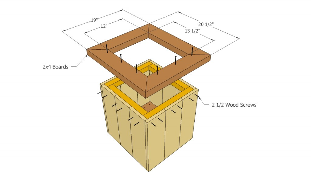 Top trim planter plans