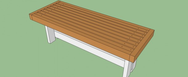 ... park bench | HowToSpecialist - How to Build, Step by Step DIY Plans