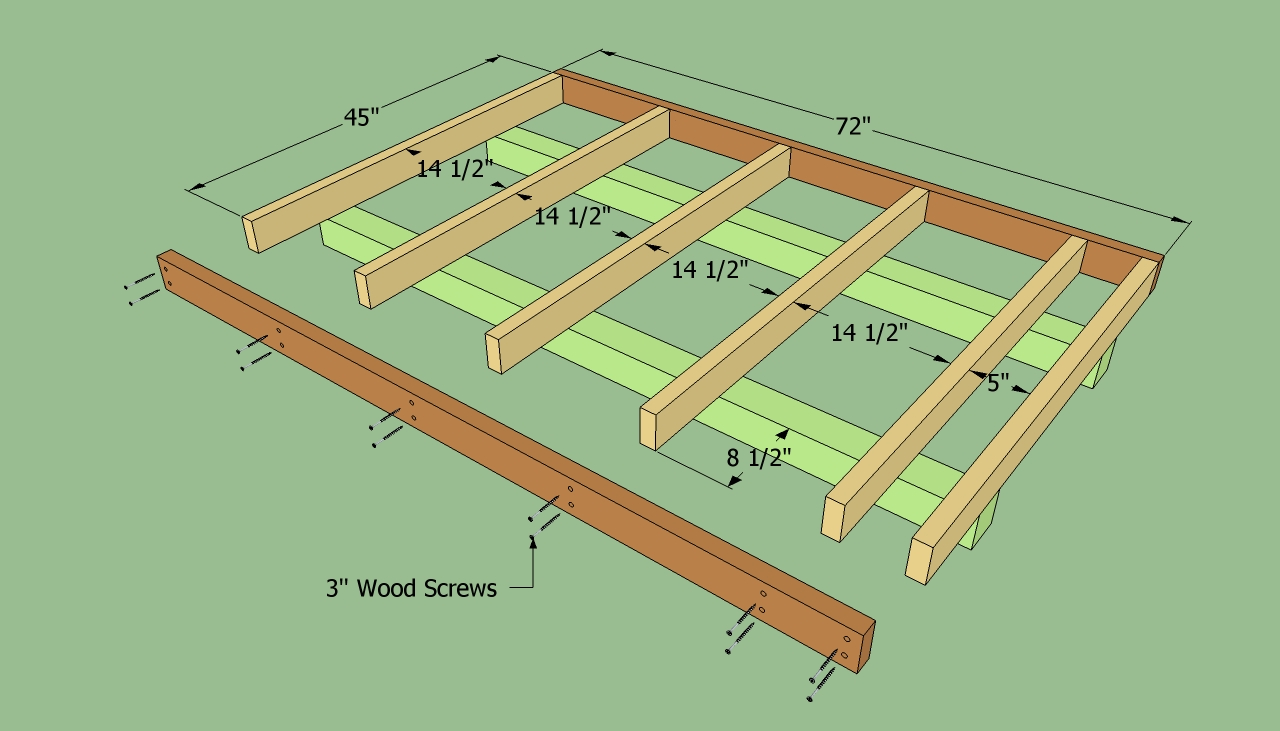 ... lean to shed | HowToSpecialist - How to Build, Step by Step DIY Plans