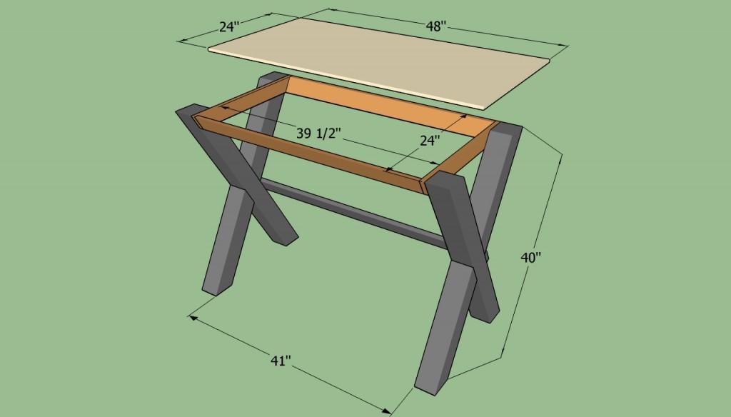 Building a simple desk
