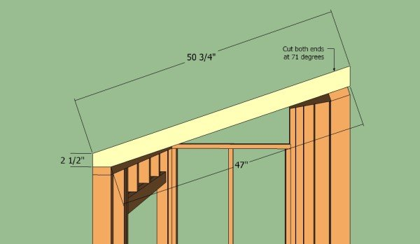 How to build a lean to shed | HowToSpecialist - How to Build, Step by Step DIY Plans